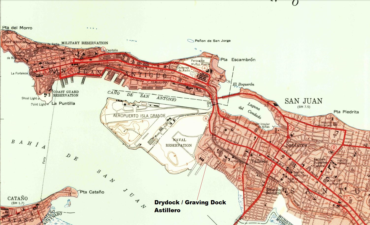 US Naval Air Station, San Juan, Puerto Rico | Railroads of Puerto ...